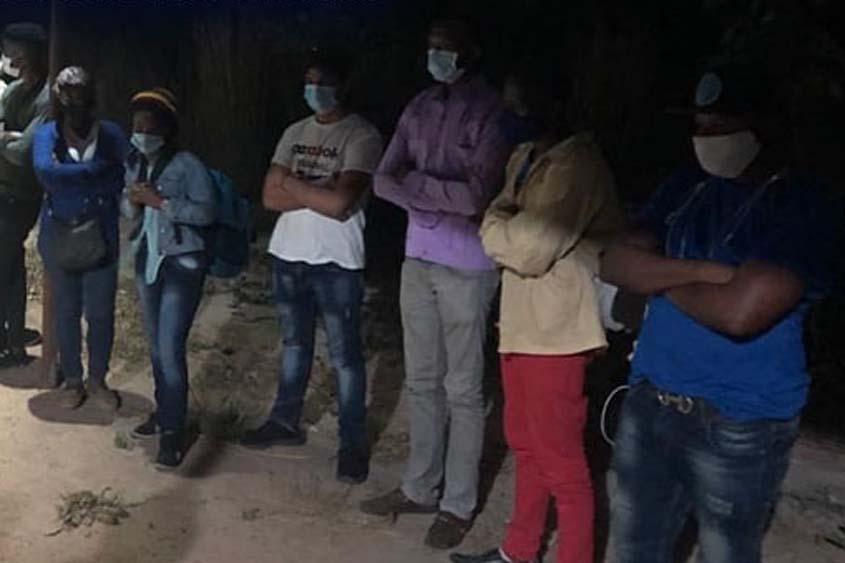 Illegal Haitians, Cuban arrested in Brazil