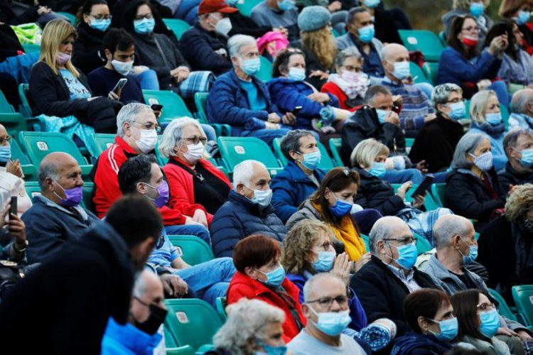 'Green Pass' concert for vaccinated Israelis