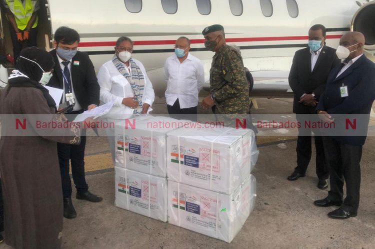 Barbados receives 100 000 doses of Oxford-AstraZeneca vaccine