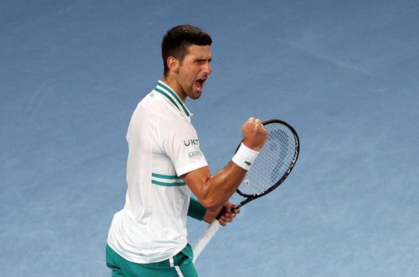 Djokovic back in Australian Open final