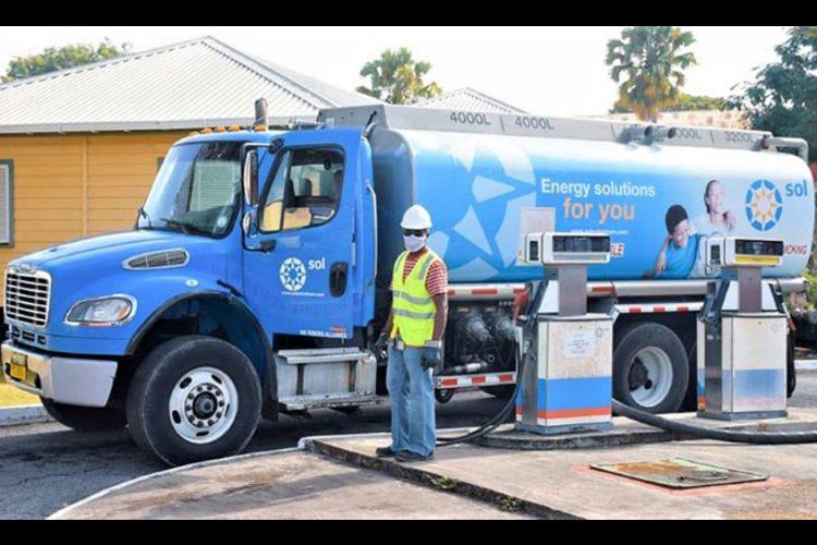 BDF receives fuel donation