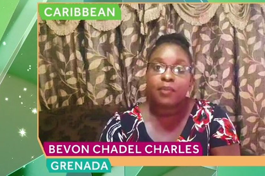 Grenadian wins Commonwealth Youth Award