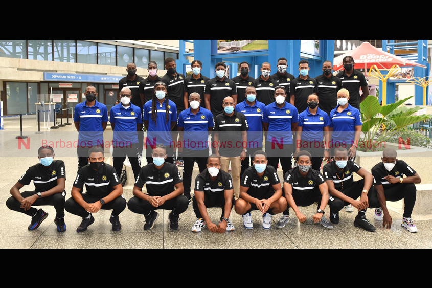 Bajan footballers off to World Cup qualifiers