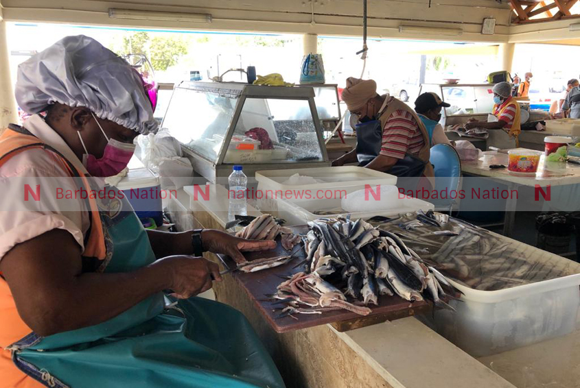 Rush for fish ahead of Easter