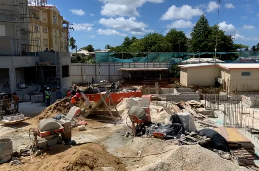 VIDEO: Construction resumes after lockdown