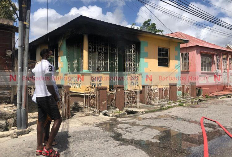 UPDATE: Man injured in City fire