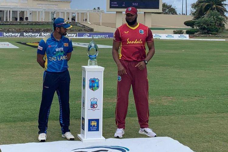 Windies set 233 to win first ODI