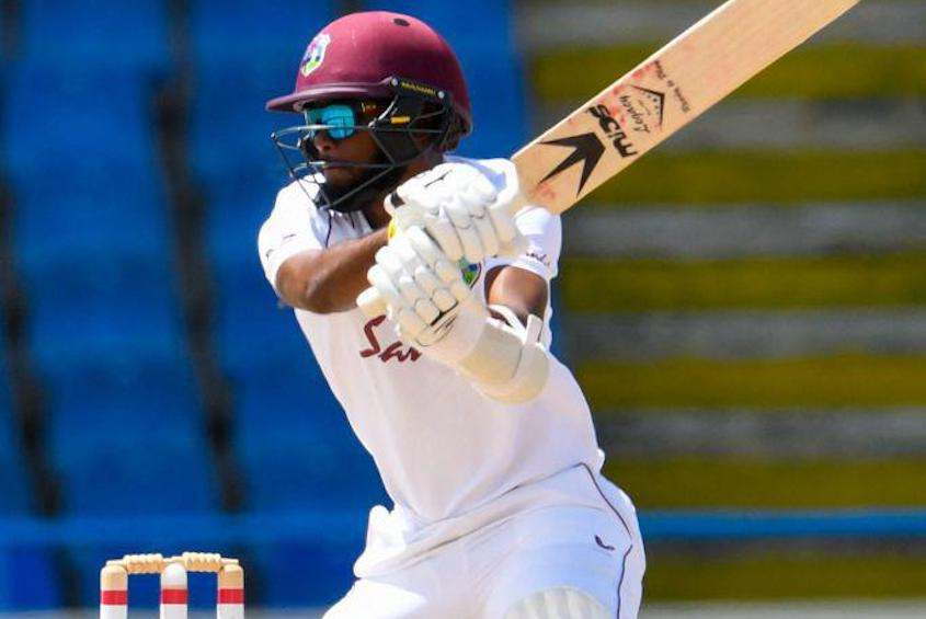 Windies 171-5 in their first innings at tea in the second Test