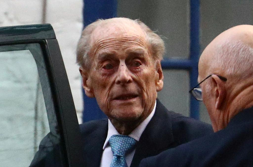 Prince Philip being monitored in hospital