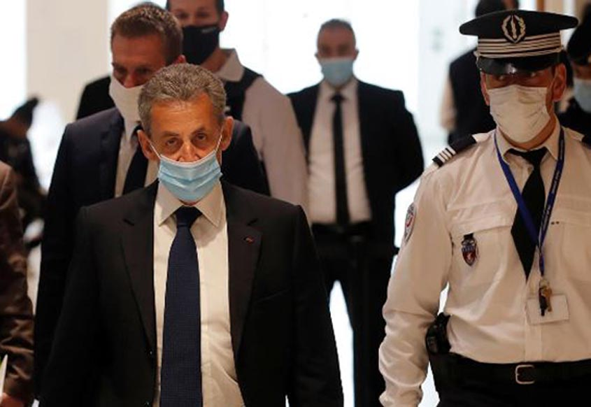 Former French president Sarkozy found guilty of corruption