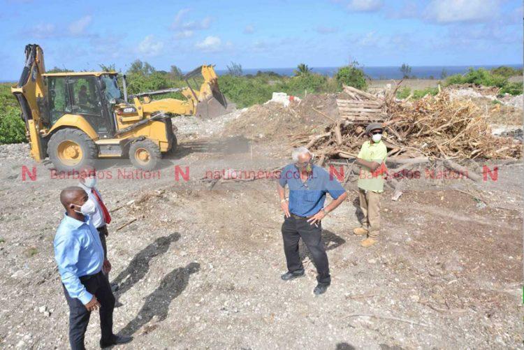 Govt clears illegal dump