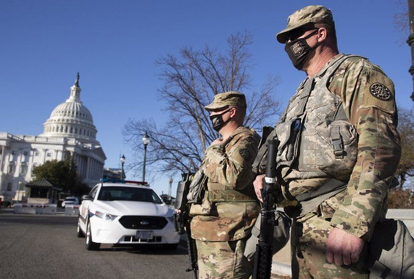 Security tight in US capitol