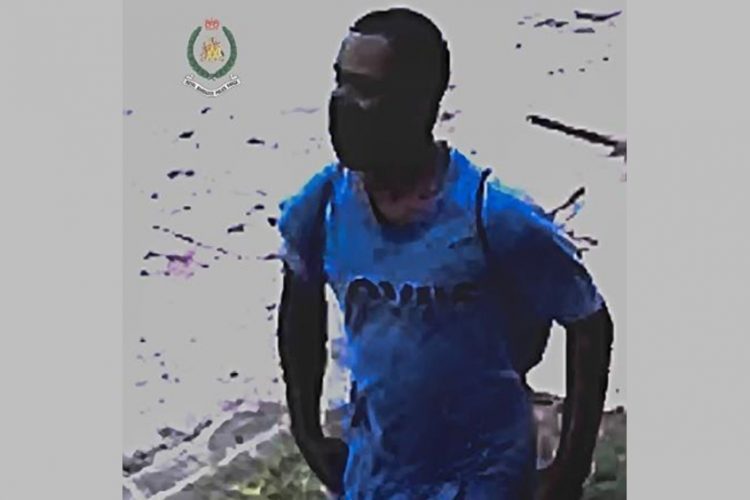 Man wanted by police