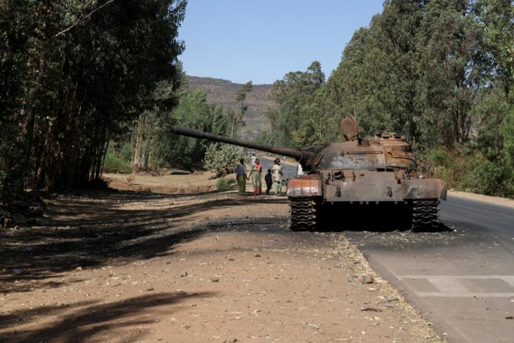 Eritrean forces leaving Tigray
