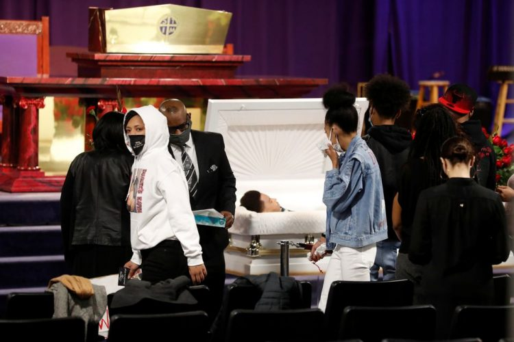 After milestone police verdict, Minneapolis lays to rest another Black man