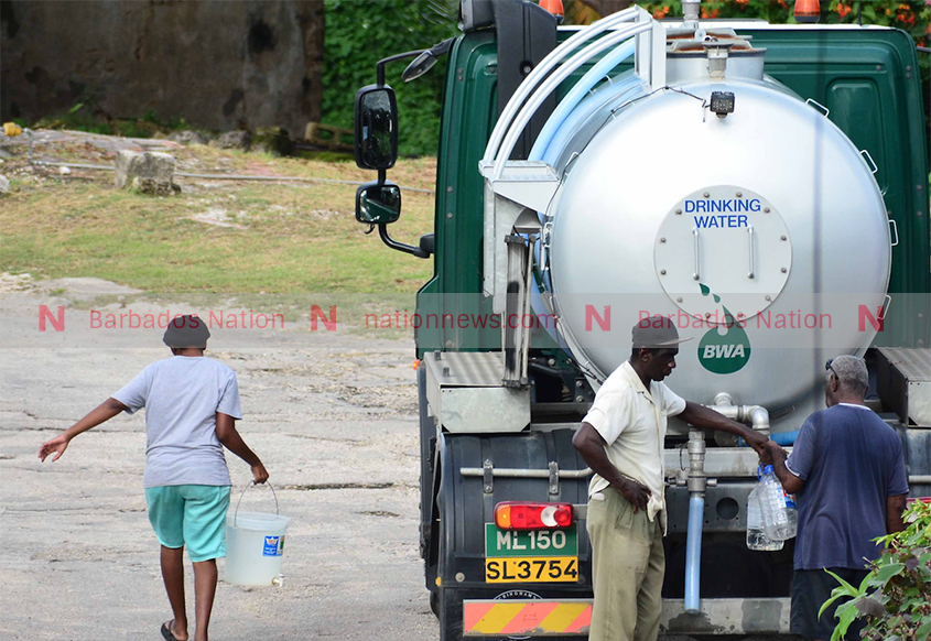 BWA launches 24-hour water tanker service