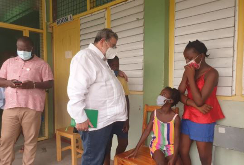 St Vincent's PM urges citizens to take COVID vaccine