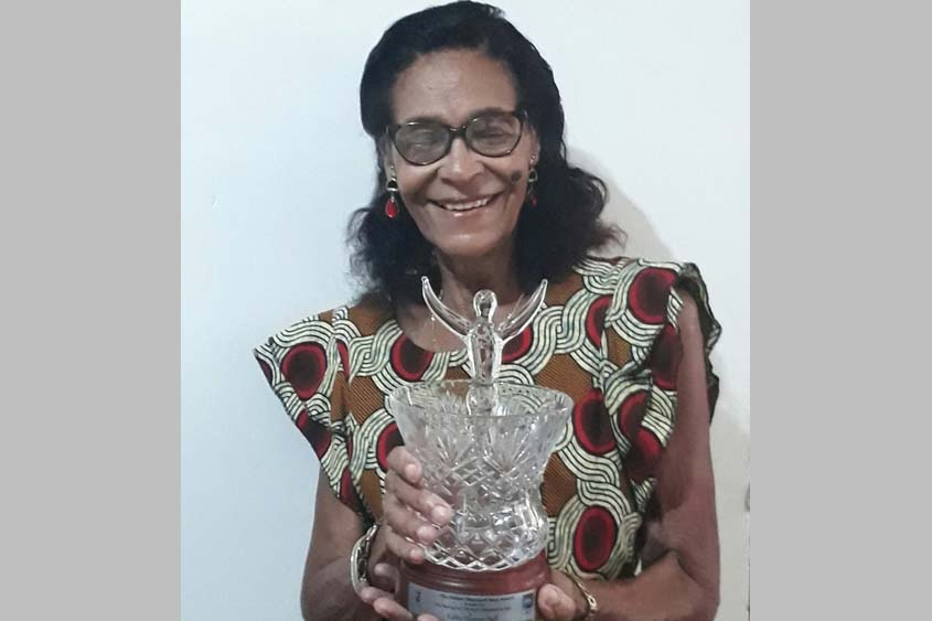 Harper-Hall cops Esther Maynard ICON Award