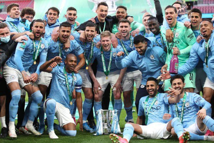 Record fourth successive win for Manchester City