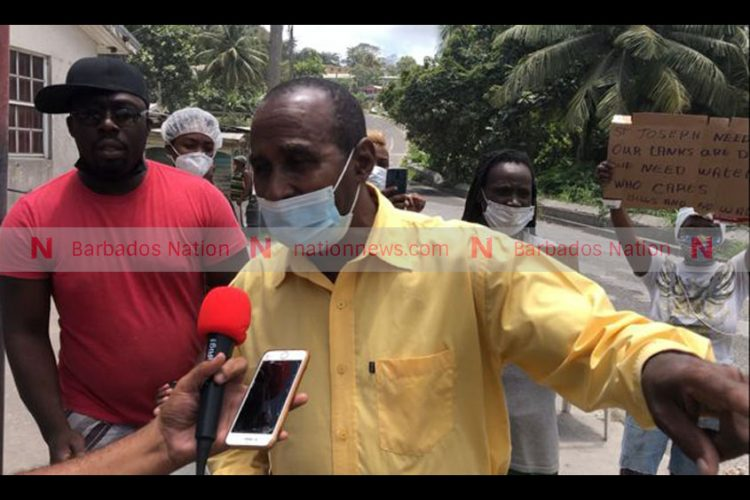 St Joseph folk protest over 'lack of water'