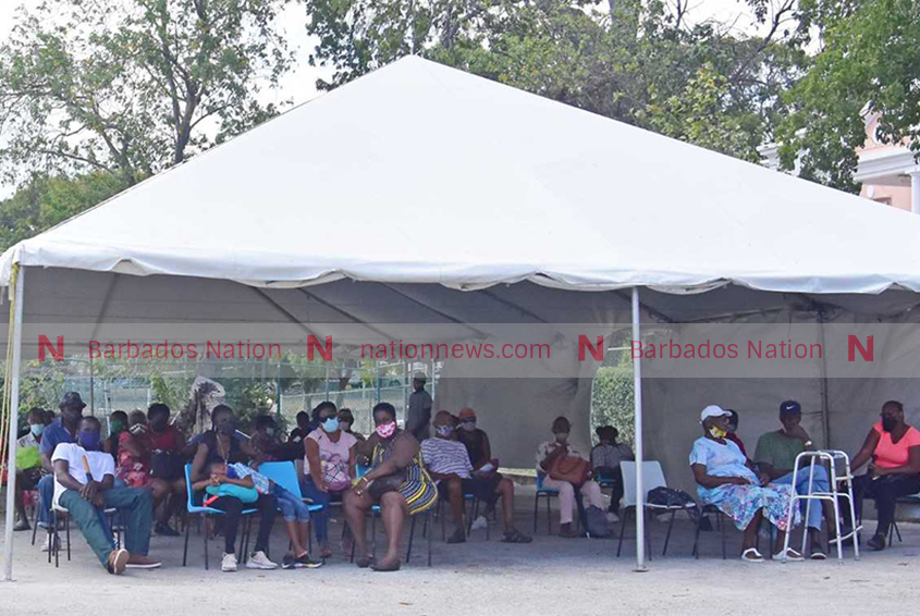 Patients upset over time spent waiting at polyclinic