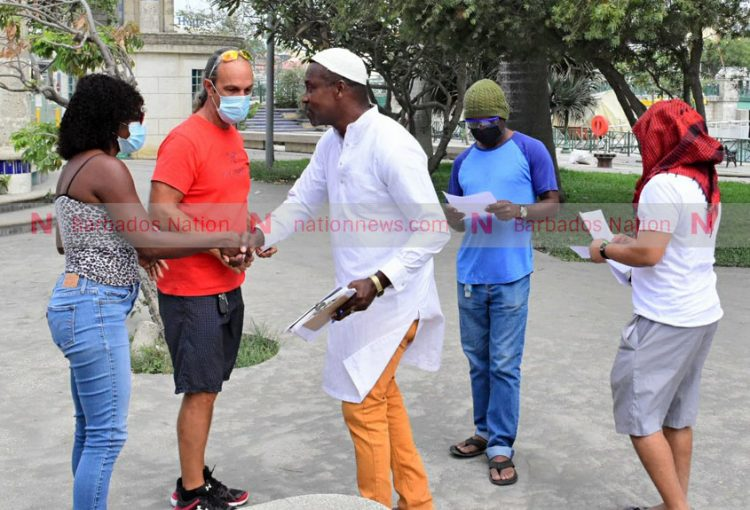 Clarke takes vaccine petition to 'Town
