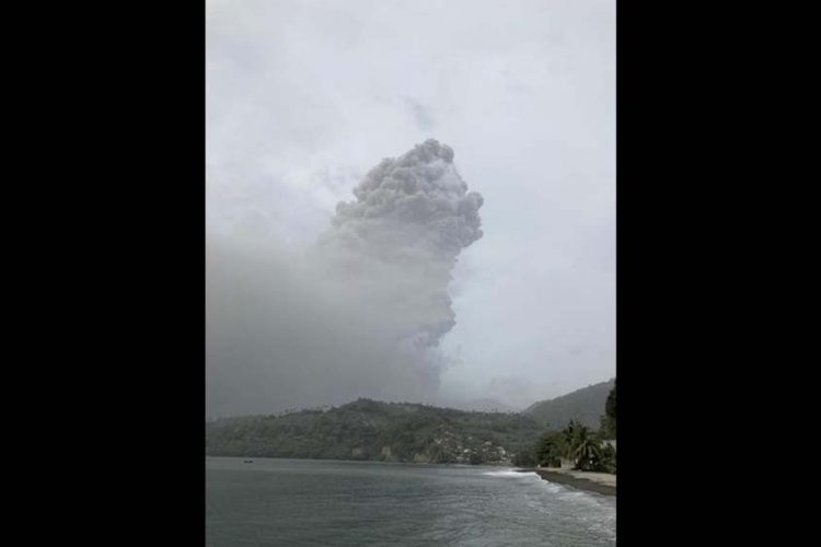 'More explosions could occur': Thousands flee as volcano erupts in Caribbean
