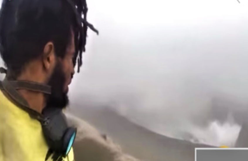 Climbing La Soufriere Volcano a foolish act, says scientist