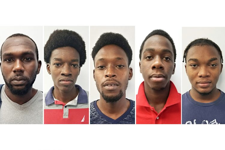 Five held for murder remanded to Dodds