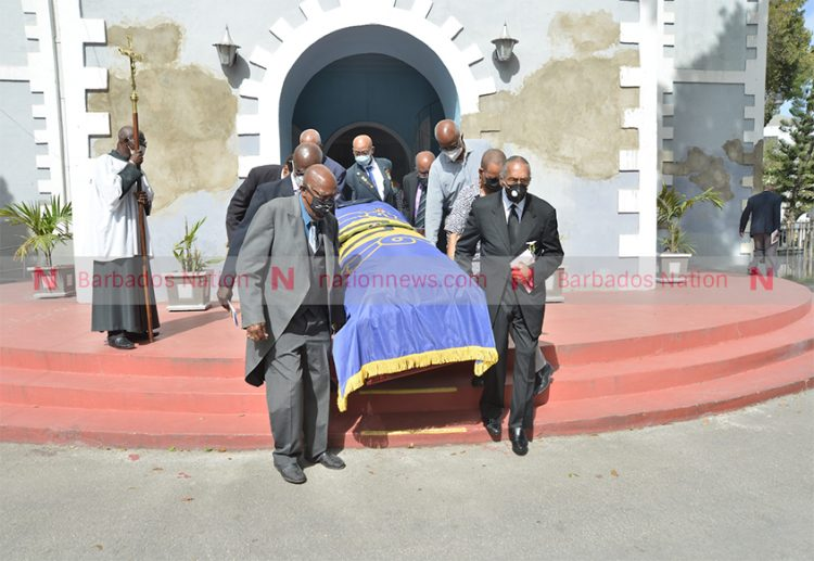 Clyde Jones laid to rest