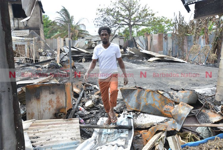 Fire victim appeals for help