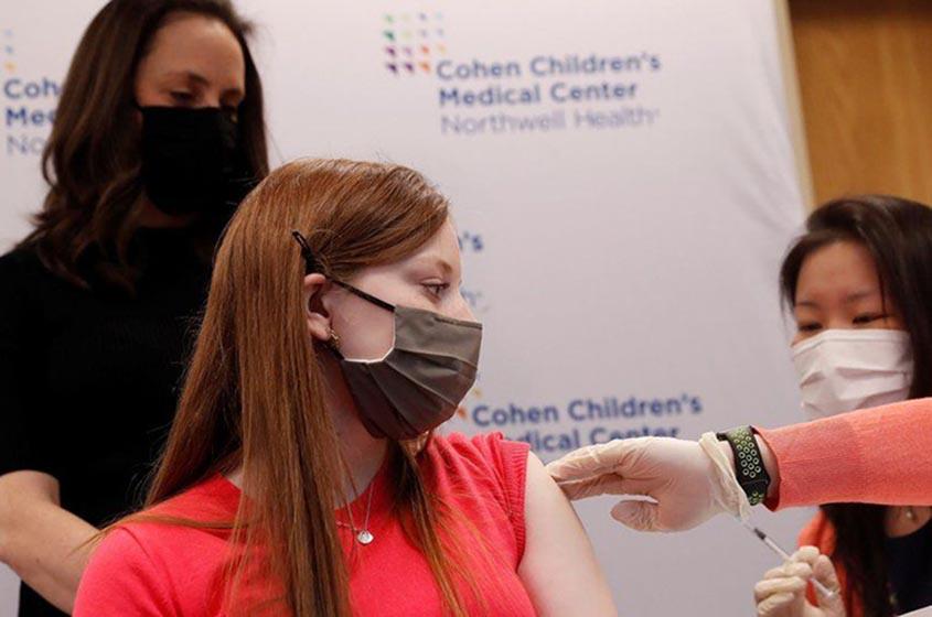 United States FDA authorises Pfizer COVID vaccine for adolescents