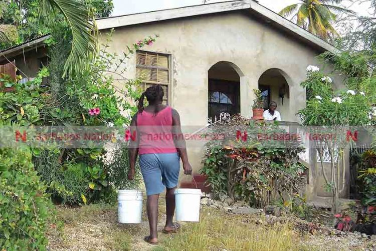 Water-less residents 'tired lifting buckets'