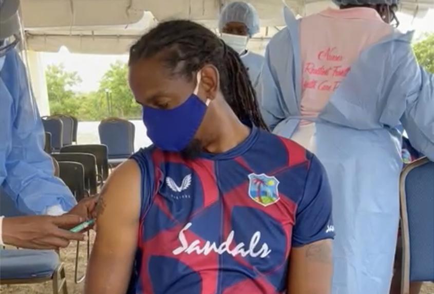 Windies Women get COVID-19 vaccines