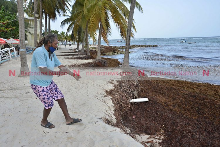 Beaches taking a bashing