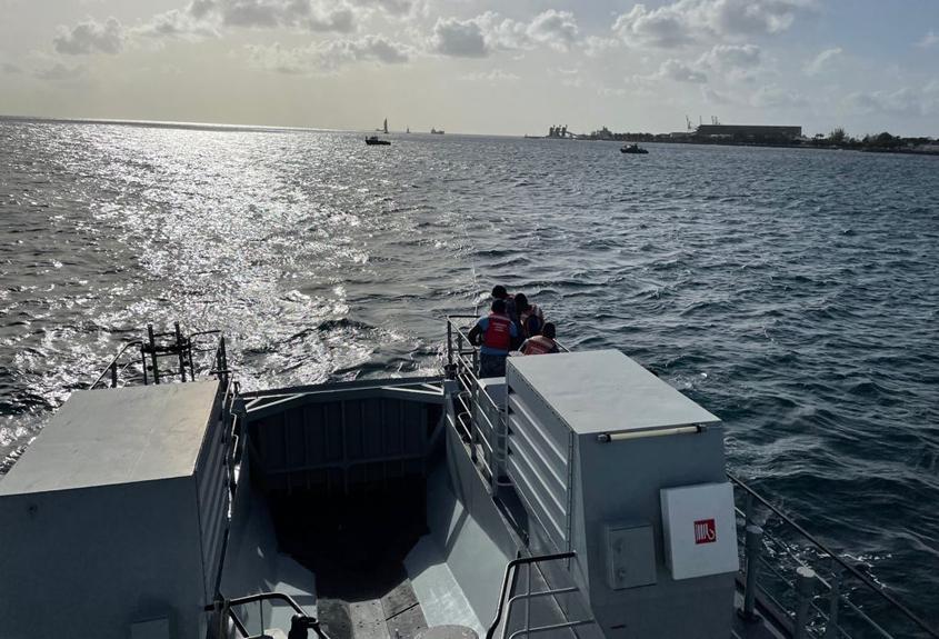Coast Guard rescues two fishermen