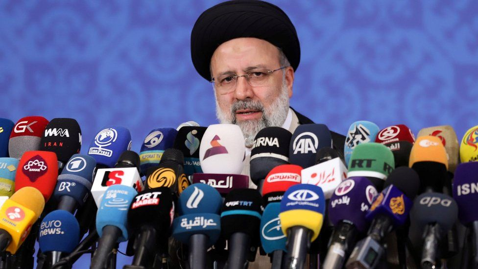 Iran's president-elect Raisi issues warning over nuclear talks