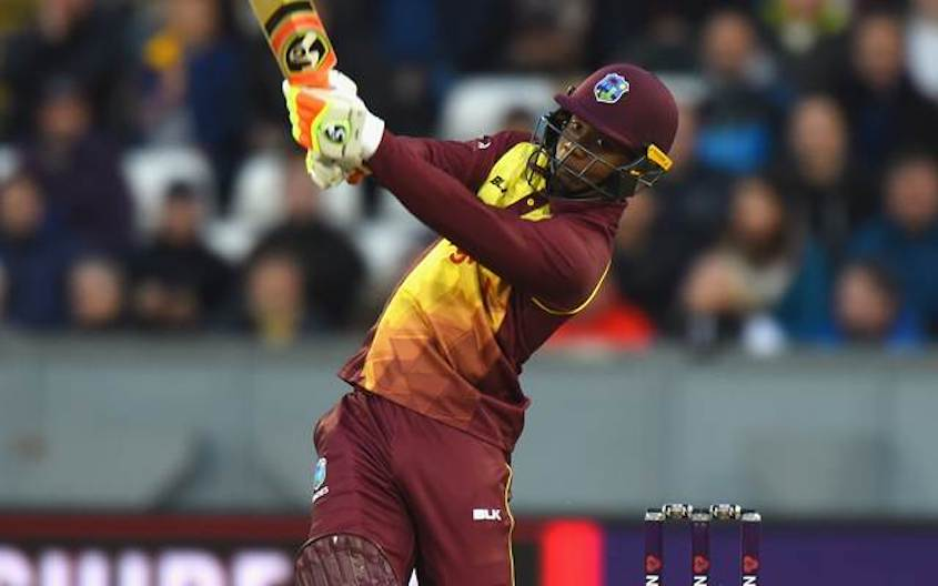 Brutal Lewis powers Windies to T20I win over South Africa