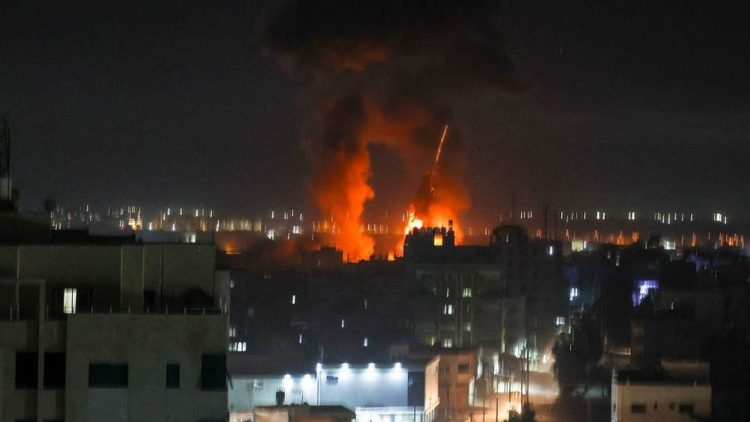 Israel strikes targets in Gaza after attack