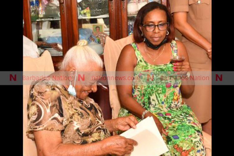 'Gran' still sprightly at 100