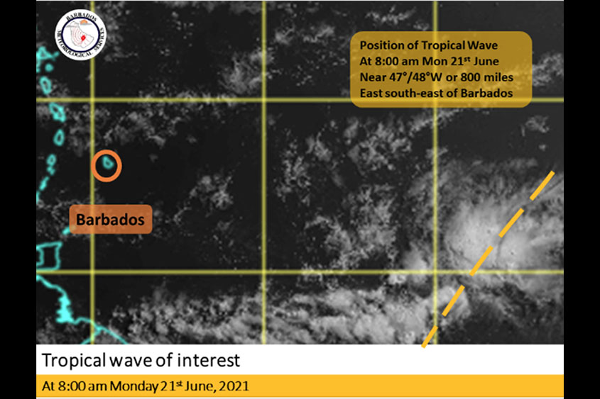 Met Office monitoring 'strong' tropical wave