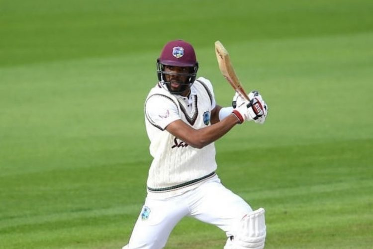 Chase hits 62, but Windies lose first Test