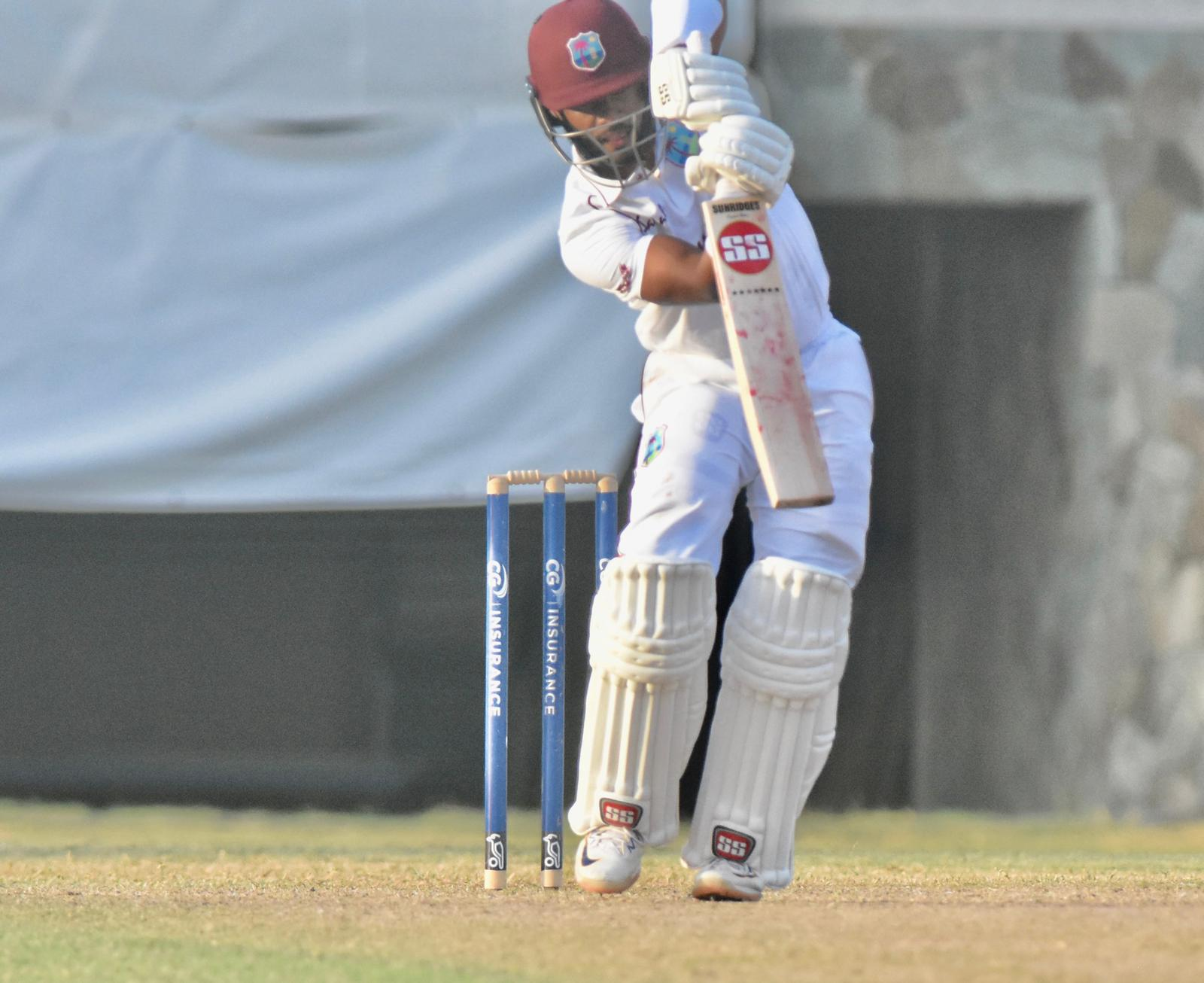 Windies 56-4 in their first innings at tea, 2nd day, 2nd Test