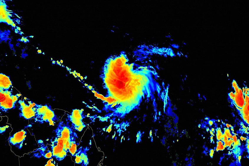 Barbados now under tropical storm warning