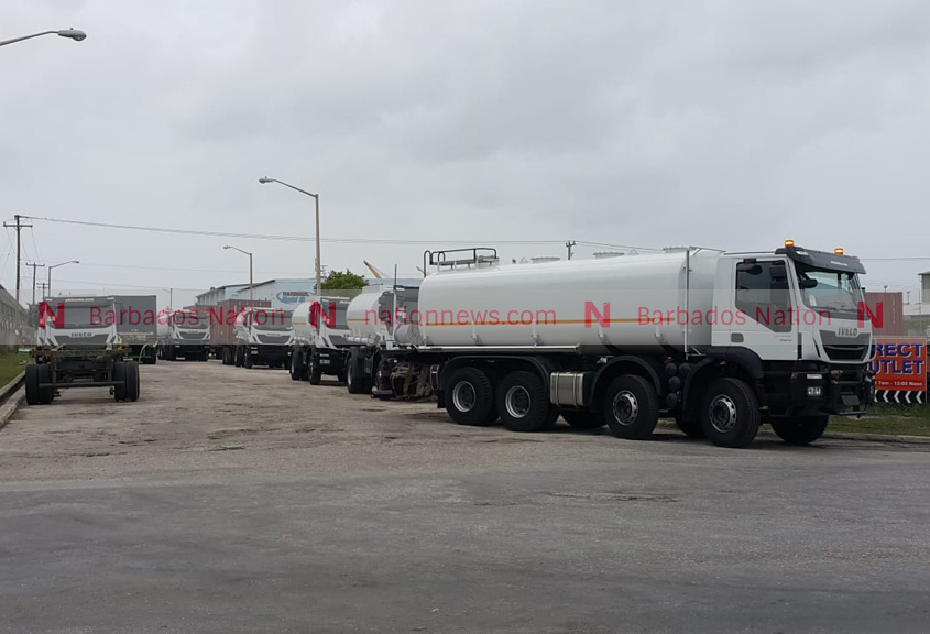 New water tankers leave the Port