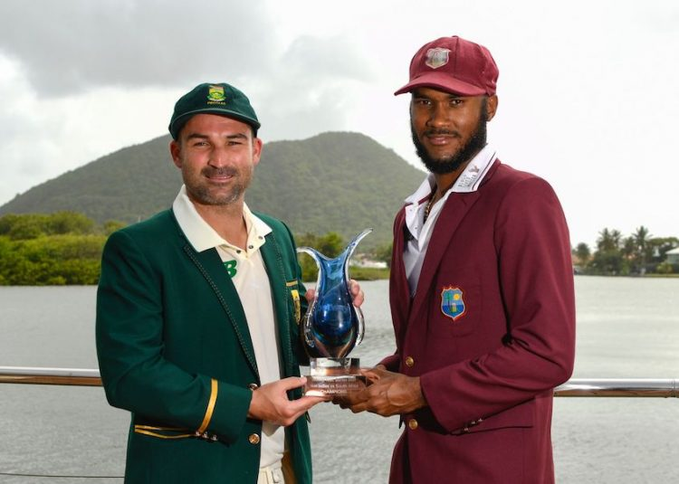 Windies batting first vs South Africa in first Test