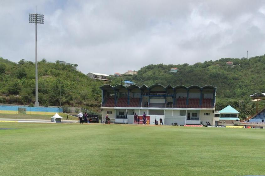 No play before lunch, 3rd day, 2nd Test