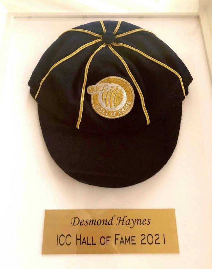Haynes inducted into ICC Hall of Fame