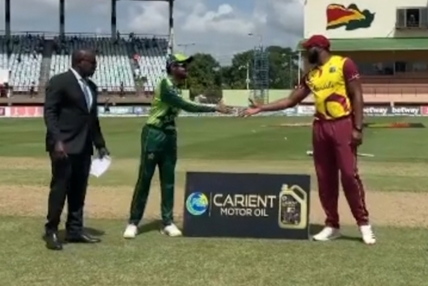 West Indies win the toss, fielding vs Pakistan in the second T20I