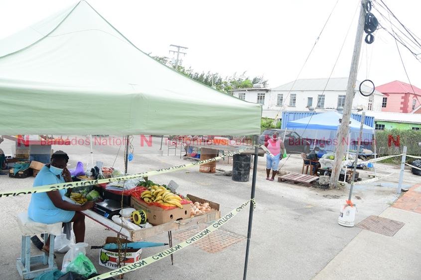Vendors back at Cheapside spot